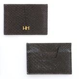 Aitch Aitch The Abigail Cardholder In Midnight With Bras Hardware