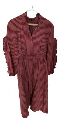Tara Jarmon Pink Viscose Dresses