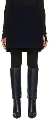 Sportmax Navy Antony Miniskirt
