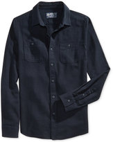 American Rag Men's Twisted-Yarn Flannel Shirt, Only at Macy's