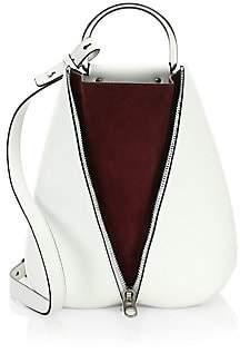 Proenza Schouler Women's Shiny Leather Vertical Zip Backpack