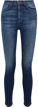 Rag & Bone Nina Faded High-rise Skinny Jeans