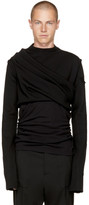 Rick Owens Black Subhuman Sweater