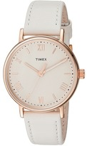 Timex Southview 37 Leather Strap Watches