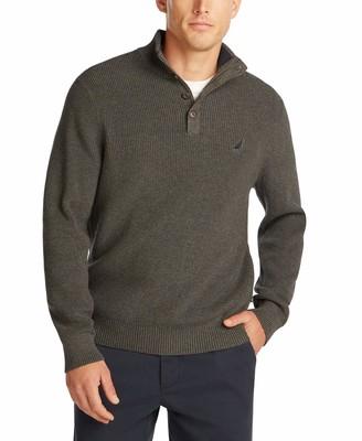 Nautica Men's Classic Fit Mock Neck Sweater
