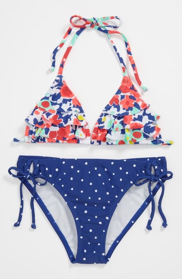 Roxy Two Piece Swimsuit (Big Girls)
