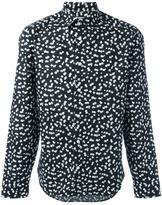 Kenzo Post-It slim-fit shirt - men - Cotton - 38