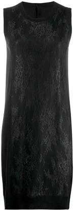 MM6 MAISON MARGIELA floral knit dress
