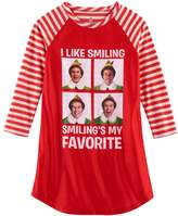 "Intimo Girls 4-12 Elf ""I Like Smiling Smiling's My Favorite"" Nightgown"