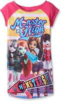 "Monster High Big Girls' ""Monster Clique"" Nightgown - , 14 - 16"