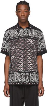 Dolce & Gabbana Black and White Bandana Shirt