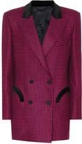 BLAZÉ MILANO Everyday checked wool blazer