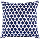John Robshaw Nadole Indigo Accent Pillow