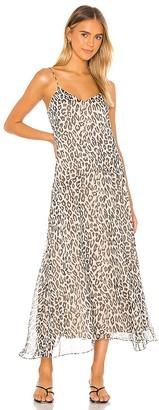 Theory Cami Asymmetrical Maxi Dress