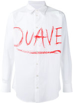 Julien David printed shirt