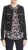 Veronica Beard Women's Eclipse Fringe Trim Jacket