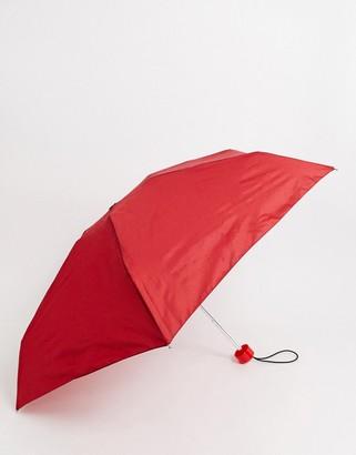 Hunter Mini Compact Umbrella-Red