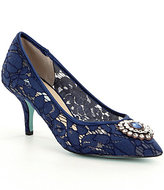 Betsey Johnson Blue by Karin Pumps