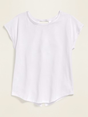 Old Navy Go-Dry Twist-Back Tee for Girls