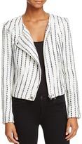 Lucy Paris Tweedy Moto Jacket