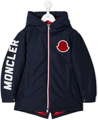 Moncler Enfant Logo Patch Jacket