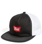 Brixton Men's Stith Mesh Snapback Baseball Cap - Black