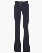 Veronica Beard Denim Skinny Flare Leg Pant