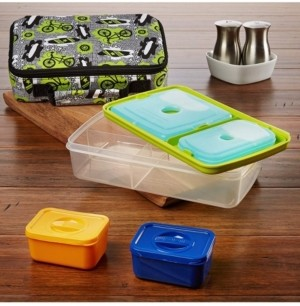 Fit & Fresh Bento Box Insulated Lunch Kit