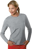 Hanes Ladies' ComfortSoft Cotton Long-Sleeve T-Shirt - XL