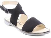 Fly London Women's Sandals 000 - Black & Bronze Ankle-Strap Clop Leather Sandal - Women