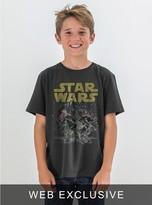 Junk Food Clothing Kids Boys Star Wars Tee-black Wash-s