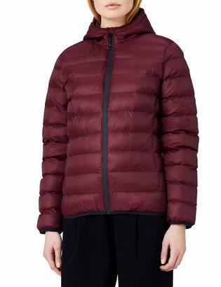 Meraki Amazon Brand Women's Hooded Puffer Jacket