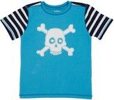 Hatley Applique Tee (Toddler/Kid) - Skulls-6