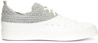Officine Creative Contrast Panel Low-Top Sneakers