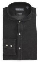 Michael Bastian Men's Trim Fit Chambray Shirt