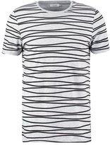 Kiomi Print Tshirt Grey Melange
