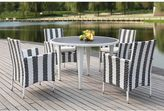 west elm All-Weather Woven 5-Piece Dining Set
