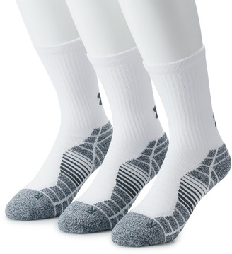 Under Armour Men's 3-pack Elevated Performance Crew Socks