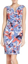 Adrianna Papell Women's Floral Sheath Dress