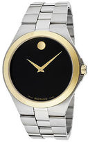 Movado 606557 Men's Black Dial Stainless Steel