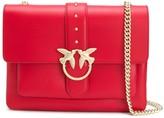Pinko Love stud-embellished shoulder bag