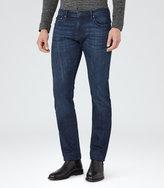 Reiss Reiss Stuge - Slim-fit Jeans In Blue