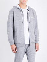 BOSS Heritage logo-print cotton-jersey hoody