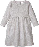 Zutano Cozie Fleece Dress (Baby) - Heather Gray - 12 Months