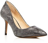 Vince Camuto Salest Metallic Snake-Embossed Pumps