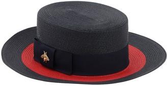 Gucci Straw Effect Hat