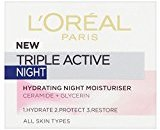L'Oreal Triple Active Night Cream (50ml) - Pack of 6
