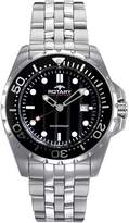 Rotary AGB00013-W-04 44mm Silver Steel Bracelet & Case Mineral Men's Watch
