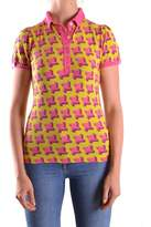 Pinko Women's Multicolor Cotton Polo Shirt.