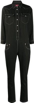 Denimist Cowboy slim-fit denim jumpsuit